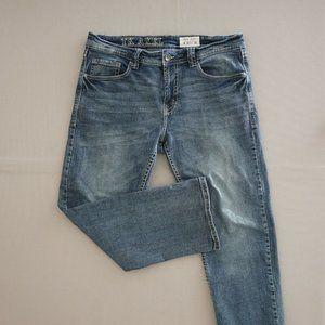 TK Axel Mens Jeans Blue Denim Stretchy Size 34x30